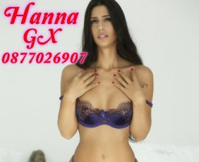 Hanna GX is a super sexy Spanish Escort in Grand Canal Dock