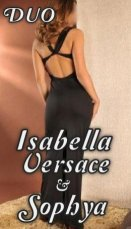 Spend some time with Isabella Versace and Sophya in Ringsend; you won't regret it